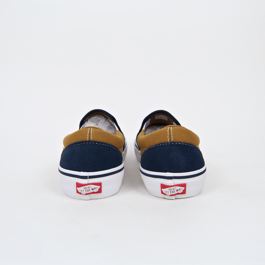 Vans - Slip-On Pro Shoes - Dress Blues / Medal Bronze / White