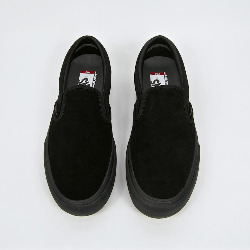 5a08cfc54a10c1 ... Vans - Slip-On Pro Shoes - Blackout ...