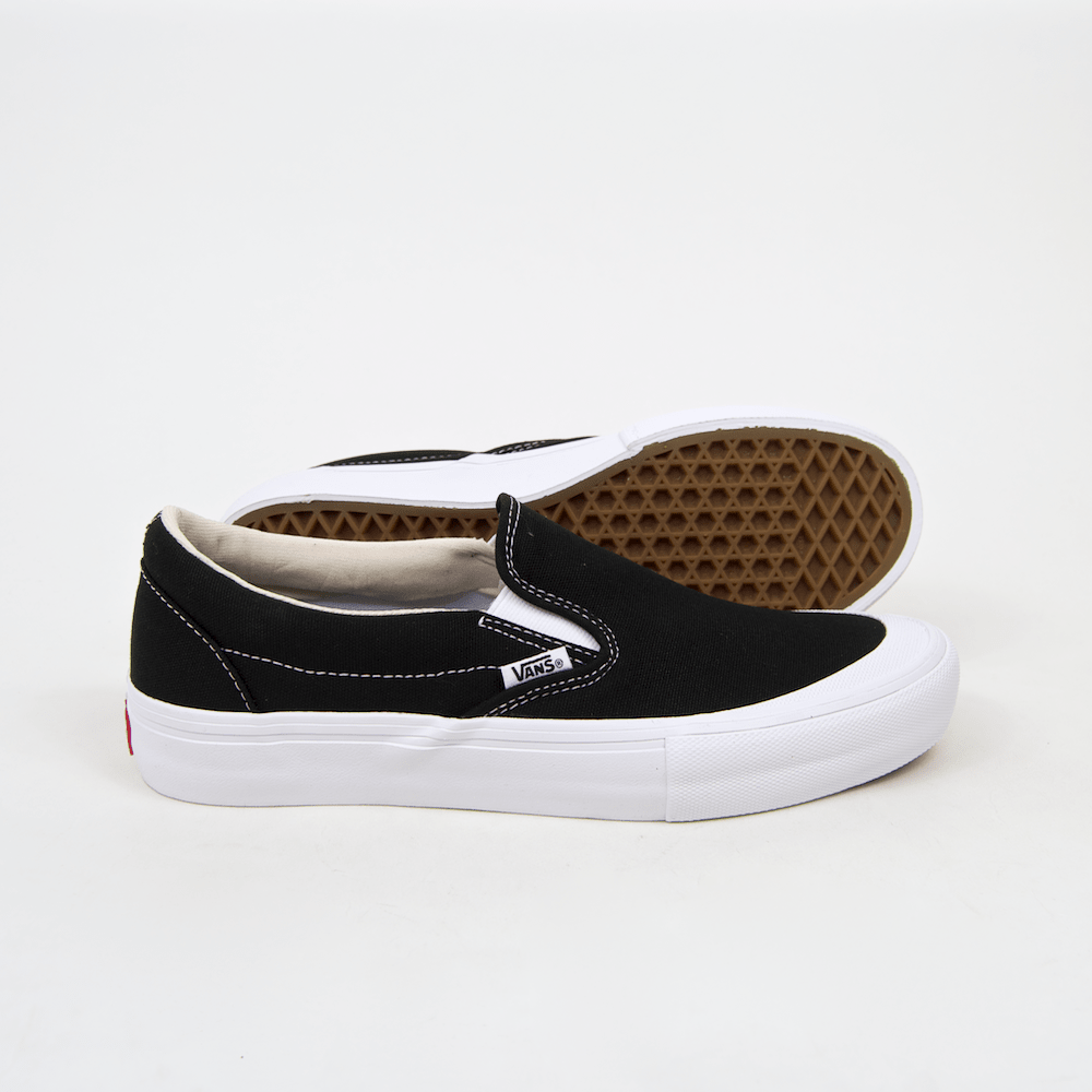 vans slip on with toe cap