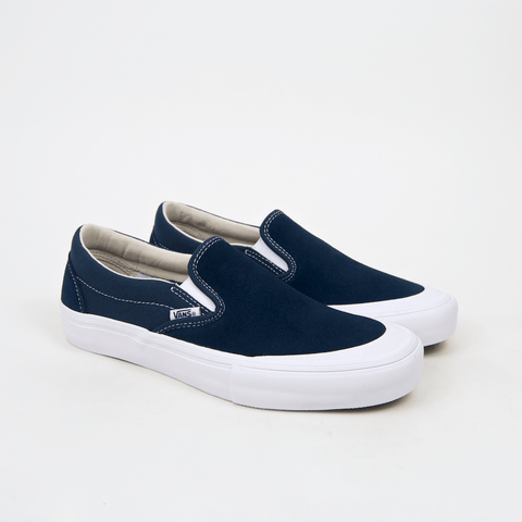 Vans - Slip-On Pro Shoes (Toe-Cap) - Reflecting Pond / White