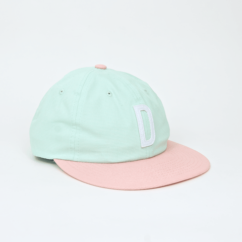 Diamond Supply Co. - Home Team D Unstructured 6 Panel Cap - Mint