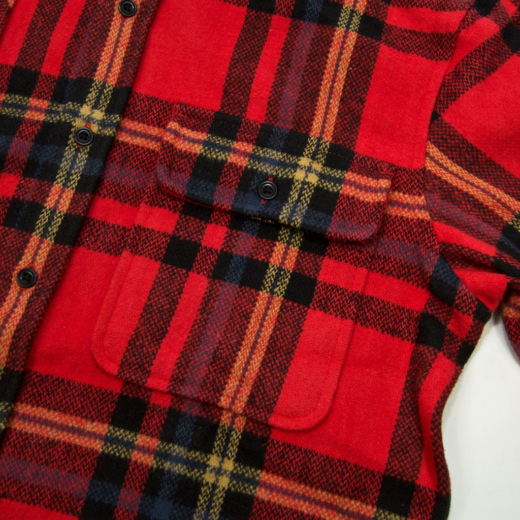 Dickies - Prestonburg Flannel Shirt - Red
