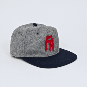 Fucking Awesome - Classic FA Wool Cap - Grey / Navy