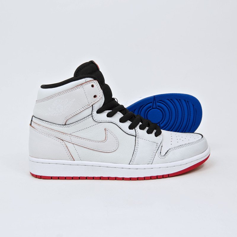 Nike SB - Jordan 1 SB QS (Lance Mountain) Shoes - White / White