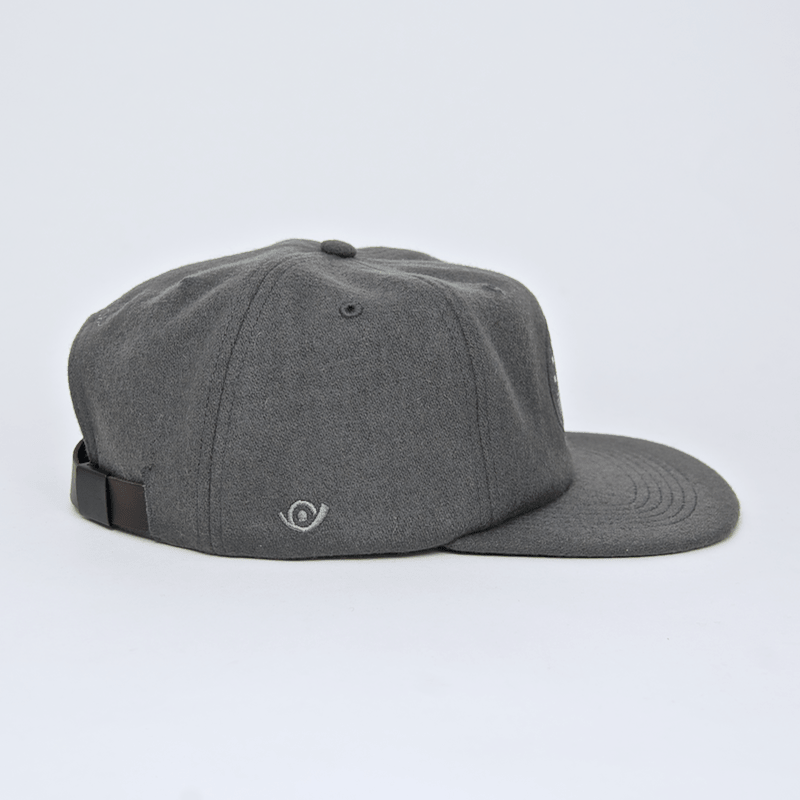 Post Details  - Six Panel Hydrant Patch Cap - Grey