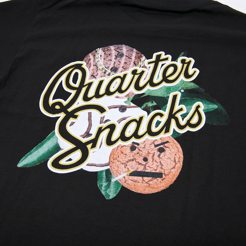 Quartersnacks - Forbidden Fruit T-Shirt - Black