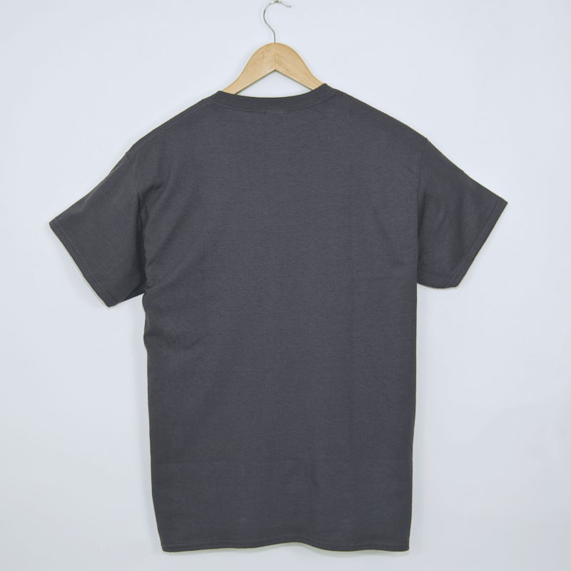 Thrasher - Flame Logo T-Shirt - Charcoal
