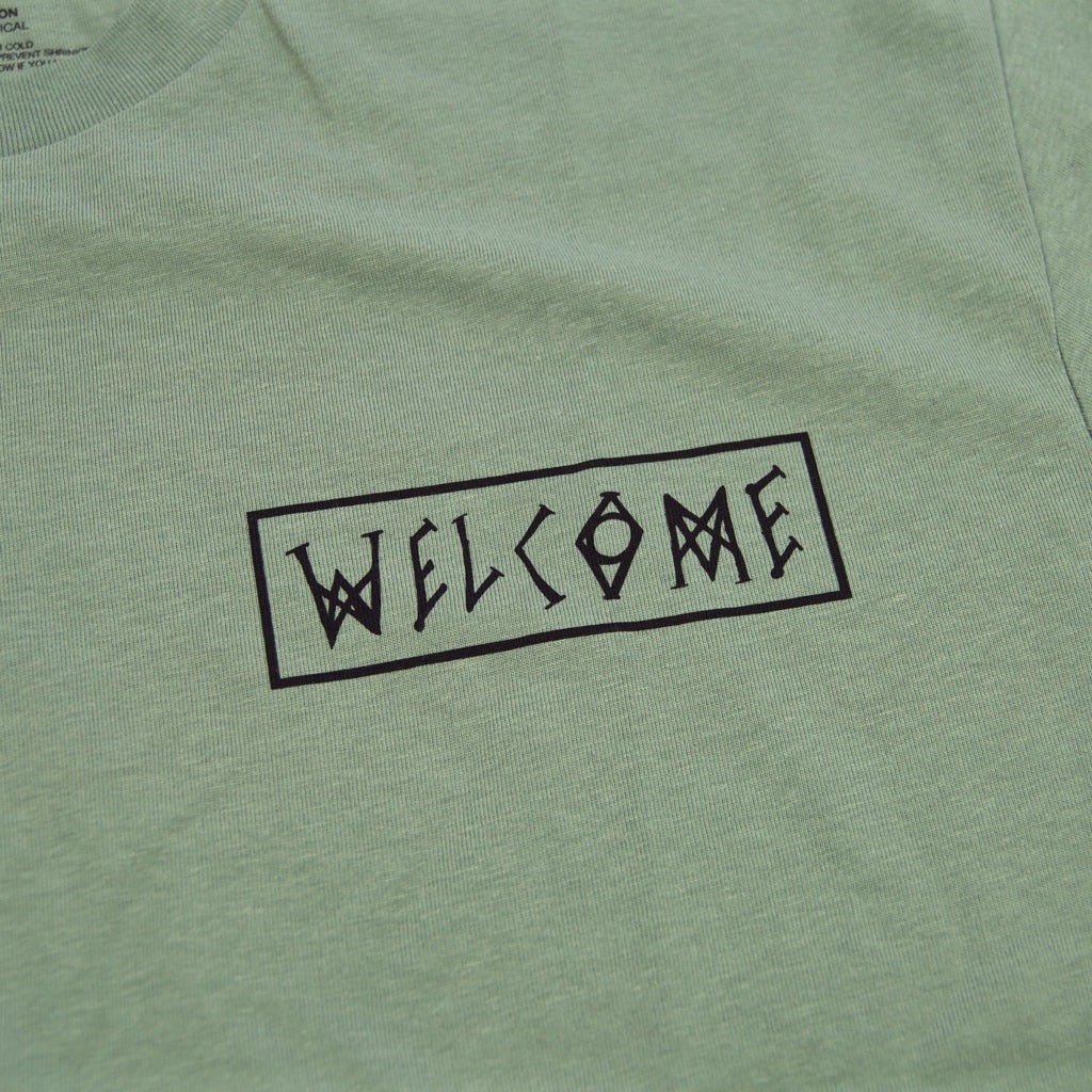 Welcome Skateboards - Latin Talisman T-Shirt - Sage