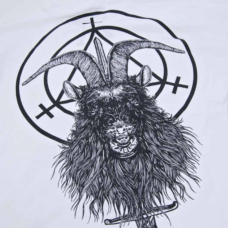 Witchcraft Skateboards - Goatwitch Longsleeve T-Shirt - White
