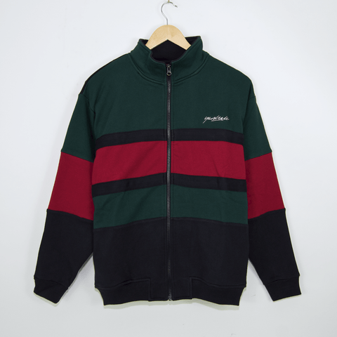Yardsale - Dior Full-Zip Sweatshirt - Green / Navy / Red