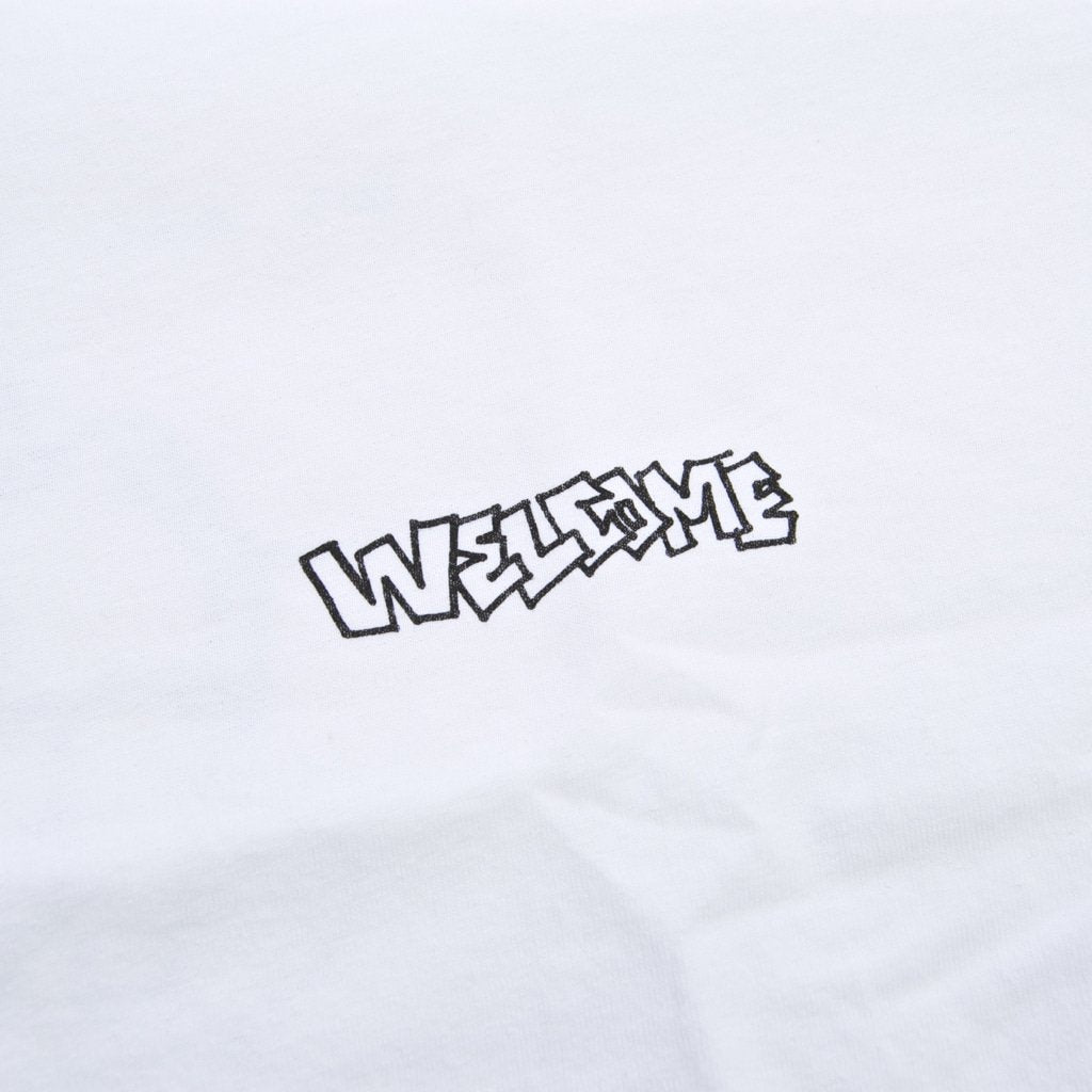 Welcome Skate Store x Alv - We All Feel Lost At Times T-Shirt - White