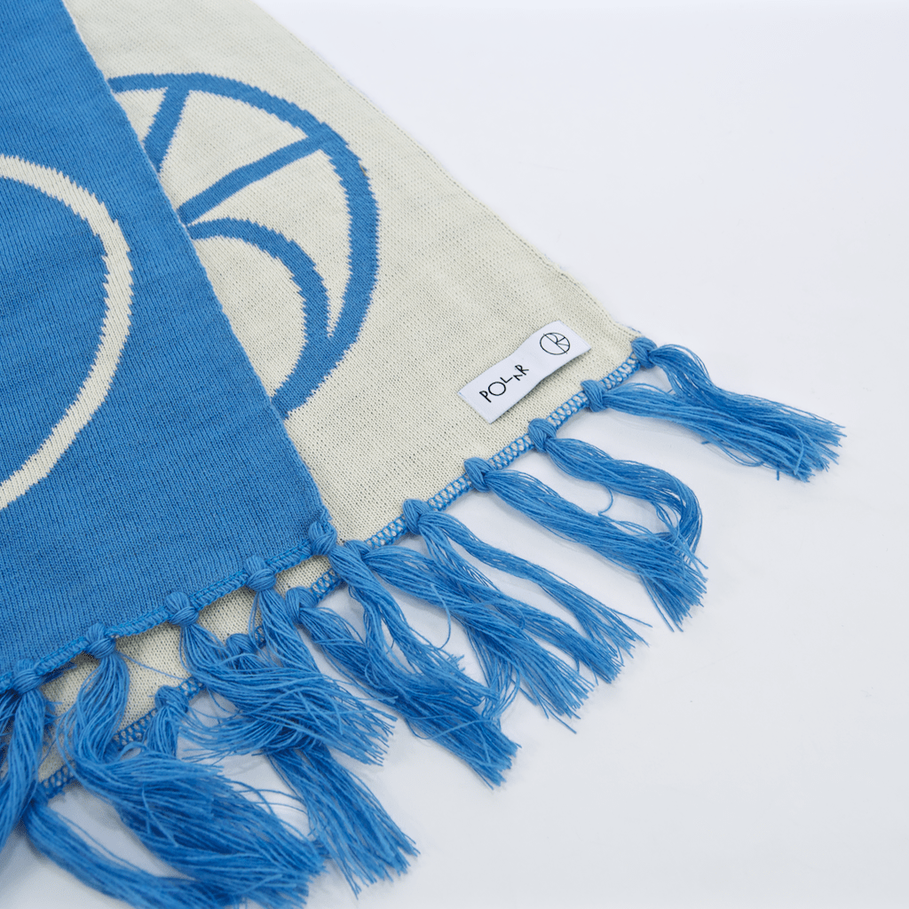 Polar Skate Co. - Stroke Logo Scarf - Pool Blue