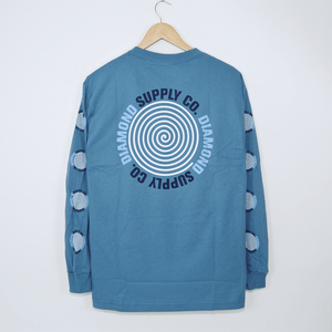 Diamond Supply Co. - Spiral Longsleeve T-Shirt - Slate