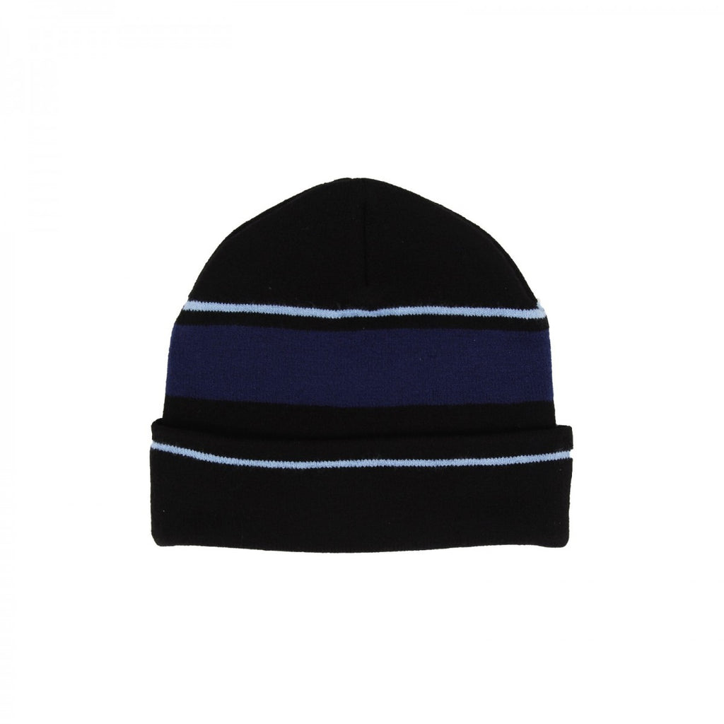 Helas - Knitted Beanie - Black / Navy