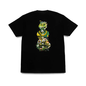 Quartersnacks - Botanical Snackman T-Shirt - Black