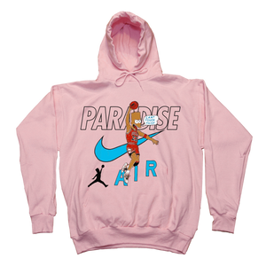 Paradise - Can't Touch This Hooded Sweatshirt - Pink