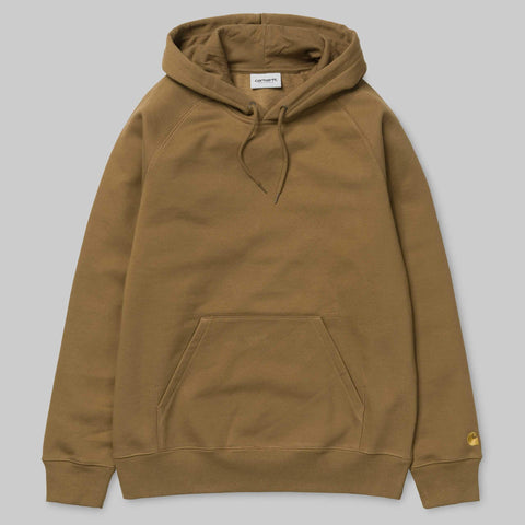 Carhartt WIP - Chase Hooded Sweatshirt - Hamilton Brown