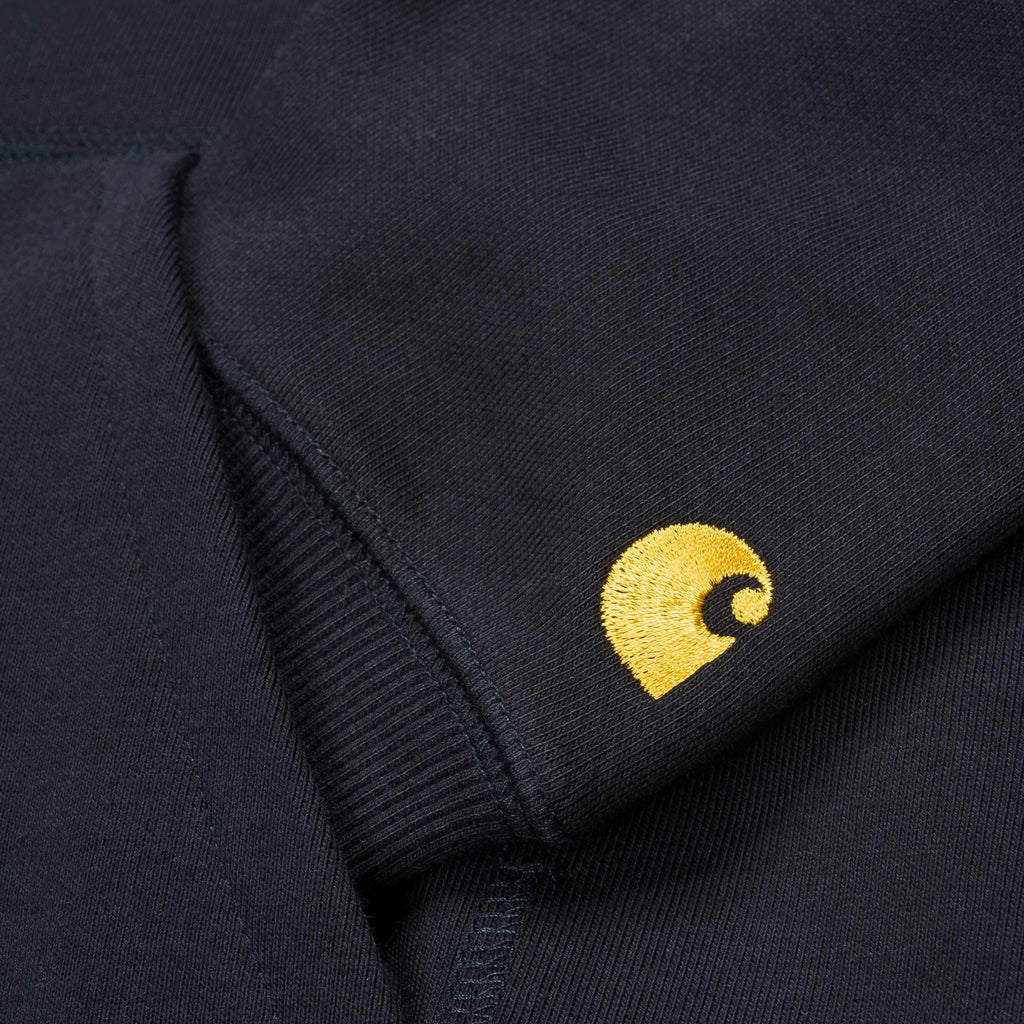 Carhartt WIP - Chase Hooded Sweatshirt - Navy / Gold