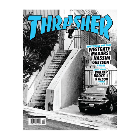 Thrasher Magazine - October 2018 Issue