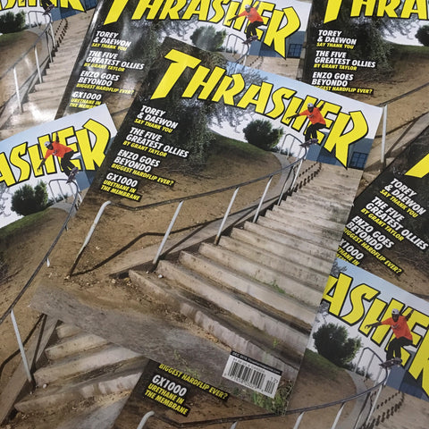 Thrasher Magazine - December 2018 Issue