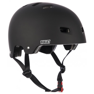 Bullet - Deluxe Youth Skateboard Helmet - Matt Black