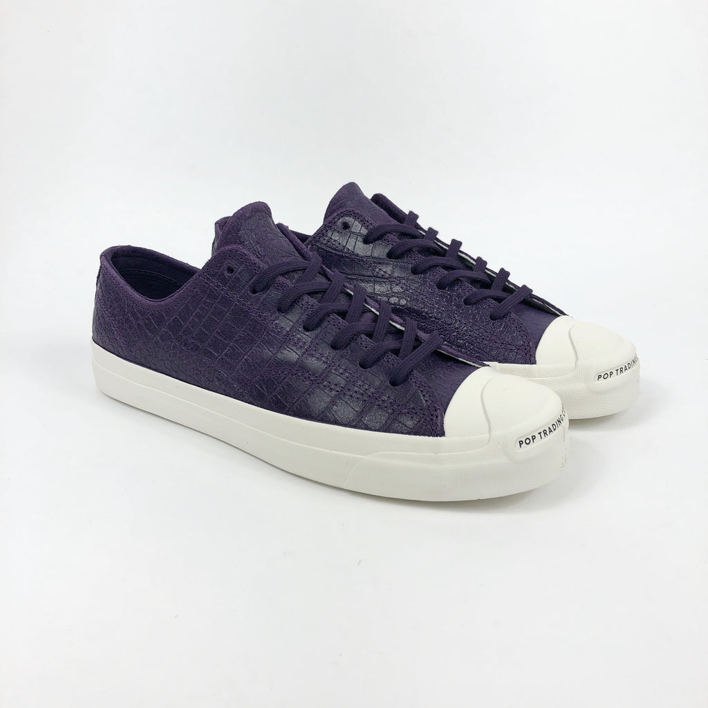 Converse Cons - POP Trading Jack Purcell Pro Shoes - Grand Purple / Black