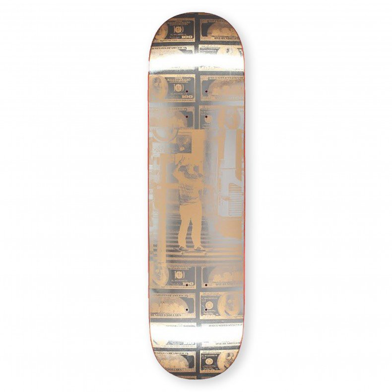 "Fucking Awesome - 8.25"" Tyshawn Jones Peace Out Skateboard Deck"