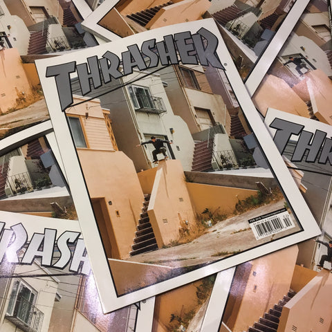 Thrasher Magazine - February 2018 Issue