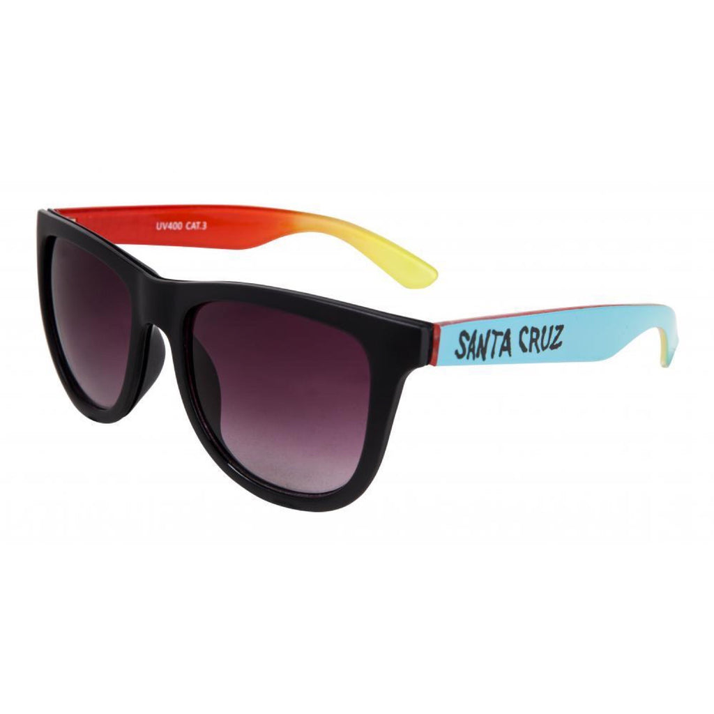 Santa Cruz - Fade Hand Sunglasses - Black / Blue