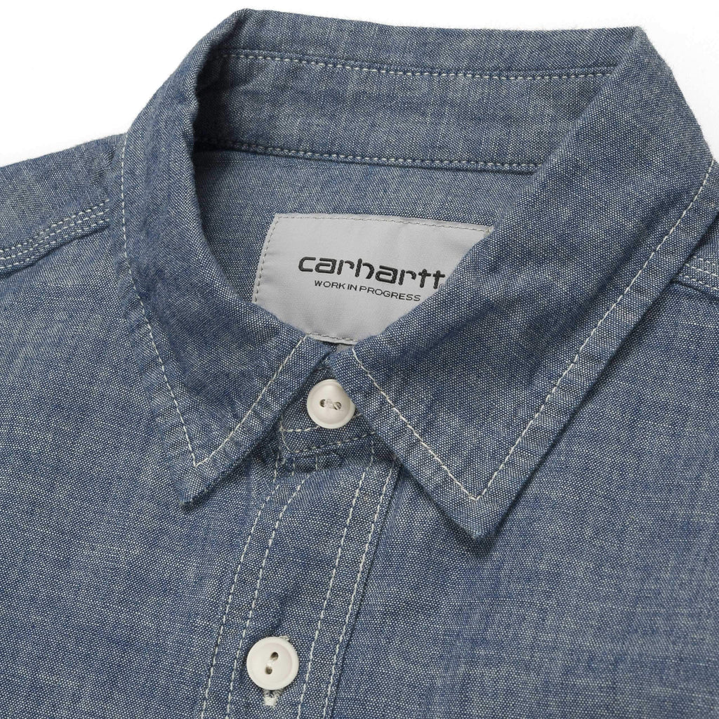 Carthartt WIP - Clink Shirt - Blue (Rinsed)