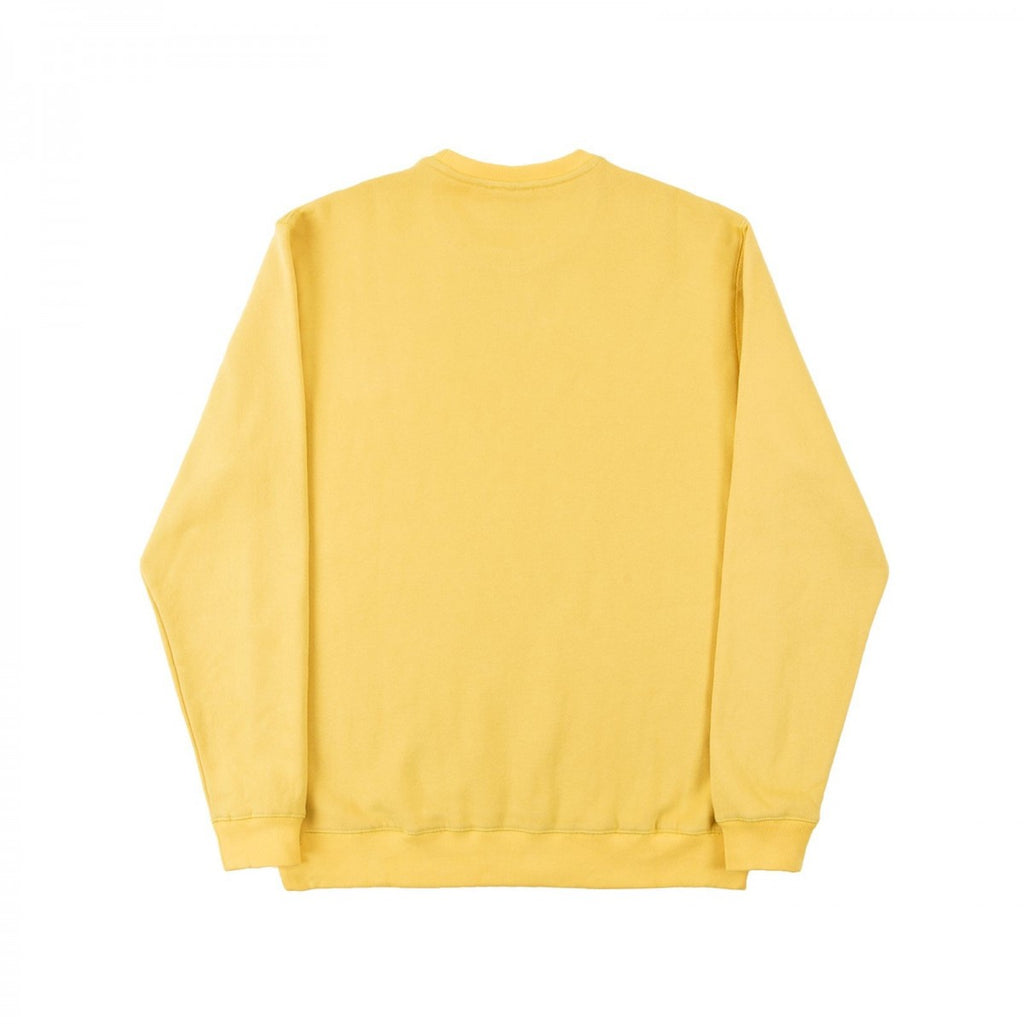 Helas - LSDOG Crewneck Sweatshirt - Yellow