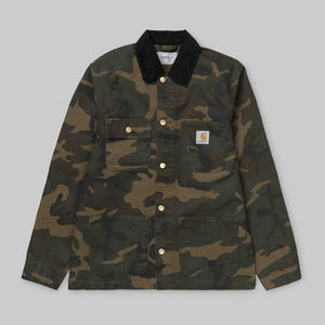 Carhartt Organic cotton Michigan Coat - Camo Laurel (Rinsed)