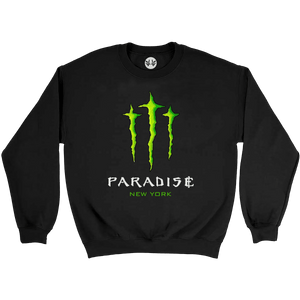 Paradise - Monster Paradise Crew Sweatshirt - Black