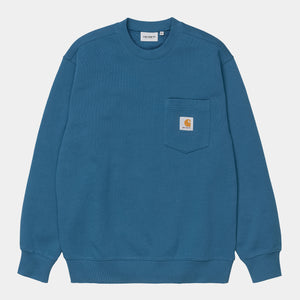 Carhartt WIP - Pocket Crewneck Sweatshirt - Shore