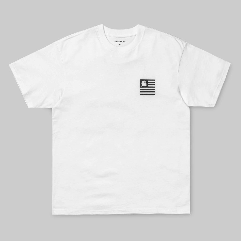 Carhartt WIP - State Patch T-Shirt - White