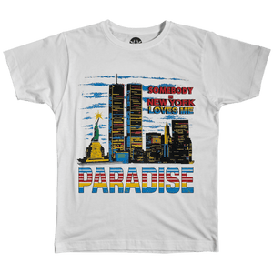 Paradise - Somebody Loves Me T-Shirt - White