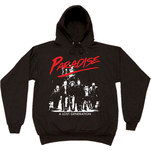 Paradise - Lost Generation Hooded Sweatshirt - Black