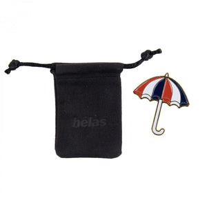 Helas - Umbrella Pin - Red / White / Blue