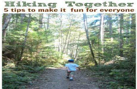 Five Tested Tips To Make Hiking With Kids Fun For Everyone.