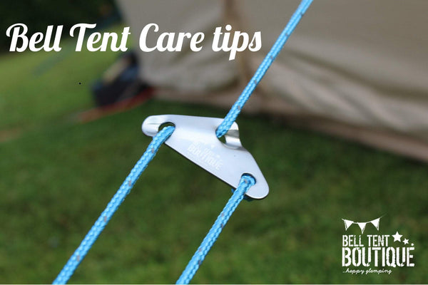 Canvas Tent Care Tips | Bell Tent Boutique