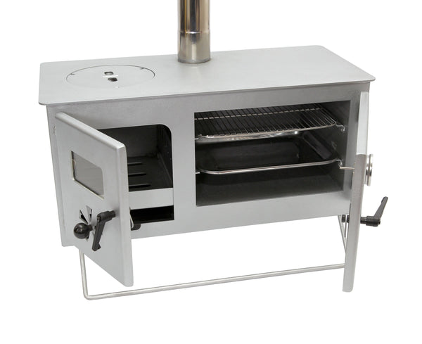 Outbacker® Firebox Pro Eco Burn Range Oven Stove