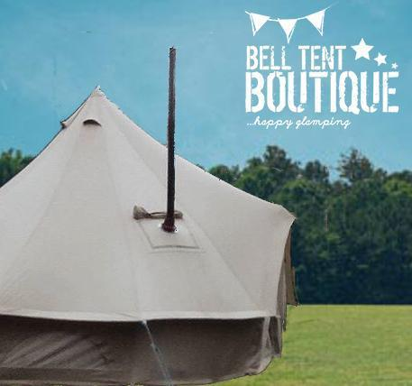 6M 360 gsm Fireproof Pro Bell Tent with Stove Hole