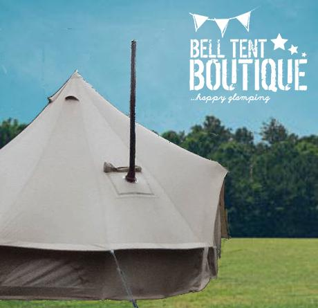 4M 360 gsm Fireproof Pro Bell Tent with Stove Hole