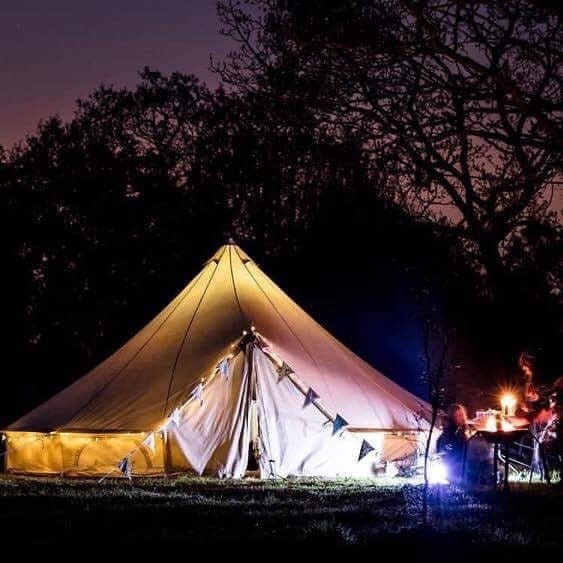7m bell tent