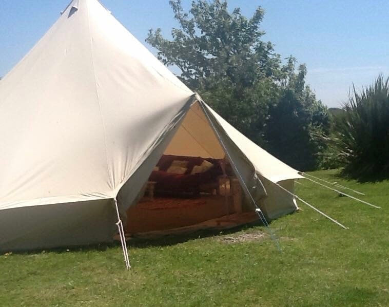 Tents 7 Metre XL Bell Tent - The UK's Biggest 7M Bell Tent