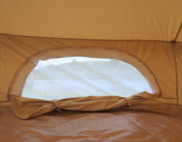 6M Bell Tent with Stove Hole