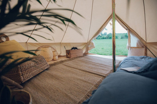 5 Metre Waterproof Cotton Canvas Bell Tent