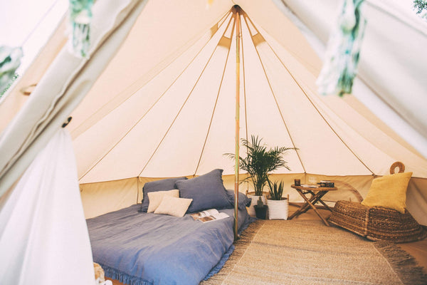 5M 360 gsm Fireproof Pro Bell Tent with Stove Hole
