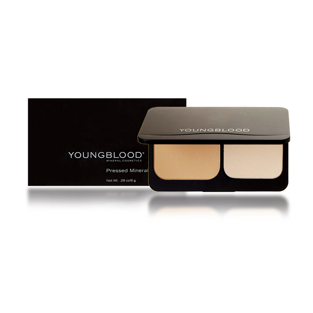 Youngblood Pressed Mineral Foundation, Soft Beige, 8 Gram / 0.28 oz