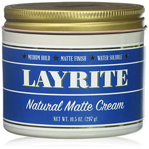 Layrite Natural Matte Cream, 10.5 oz